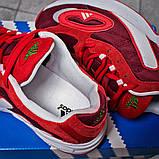 Кроссовки мужские 15914, Adidas Galaxy, красные [ 45 ] р.(45-29,0см), фото 8