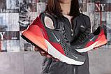 Кросівки жіночі 16051, Nike Air 270, темно-сірі, [ 36 ] р. 36-23,0 див., фото 6