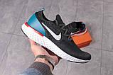 Кроссовки мужские 16103, Nike Epic React темно-серы, [ 43 44 ] р. 43-28,0см., фото 7