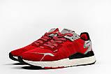 Кроссовки мужские 17297, Adidas Nite Jogger Boost 3M красны, [ 41 42 43 44 45 ] р. 41-25,2см., фото 8