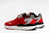 Кроссовки мужские 17297, Adidas Nite Jogger Boost 3M красны, [ 41 42 43 44 45 ] р. 41-25,2см., фото 9