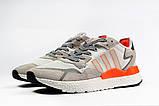 Кроссовки мужские 17301, Adidas Nite Jogger Boost 3M белы, [ 41 43 44 45 46 ] р. 41-25,2см., фото 8