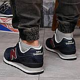 Кросівки чоловічі 18243, New Balance 574, темно-сині, [ 41 42 43 44 45 46 ] р. 41-26,5 див. 43, фото 4