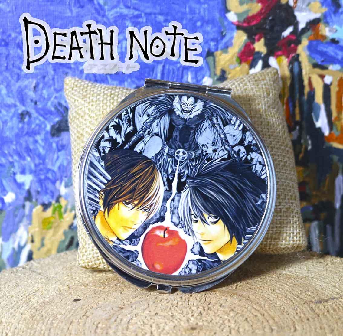 Кишеньковий дзеркало Лайт і L Зошит смерті / Death Note