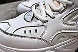 Кросівки чоловічі 20041, Nike M2K techno, білі, [ 40 41 ] р. 40-25,0 див., фото 8