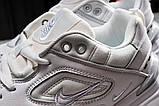 Кросівки чоловічі 20041, Nike M2K techno, білі, [ 40 41 ] р. 40-25,0 див., фото 9