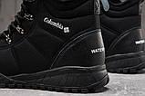 Зимние мужские кроссовки 31233, Columbia Waterproof, черные [ нет в наличии ] р.(43-28,0см), фото 4