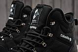 Зимние мужские кроссовки 31233, Columbia Waterproof, черные [ нет в наличии ] р.(43-28,0см), фото 5