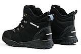 Зимние мужские кроссовки 31233, Columbia Waterproof, черные [ нет в наличии ] р.(43-28,0см), фото 9