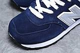 Зимові жіночі кросівки 31355, New Balance 574 (хутро), темно-сині, [ 38 ] р. 38-24,0 див., фото 4