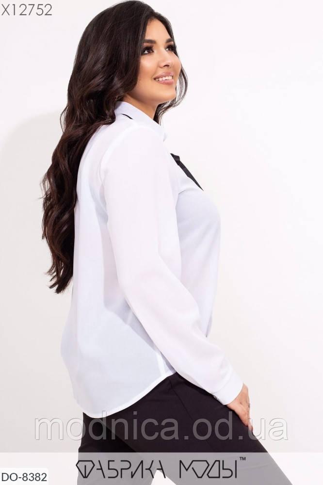 Жіноча нарядна сорочка в романтичному стилі, розміри 42-44, 46-48
