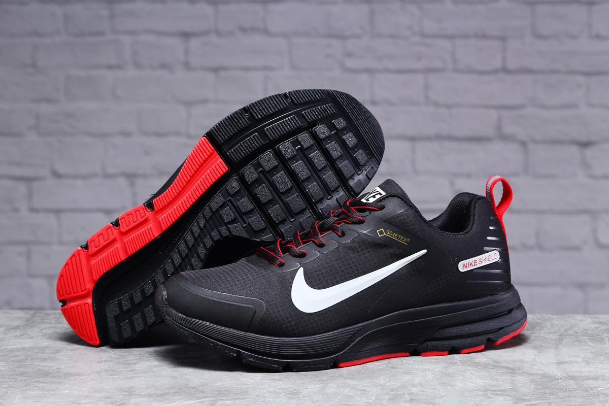 Зимние мужские кроссовки 31431, Nike Shield, черные, [ 41 44 ] р. 41-25,5см.