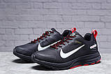 Зимние мужские кроссовки 31431, Nike Shield, черные, [ 41 44 ] р. 41-25,5см., фото 2