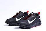 Зимние мужские кроссовки 31431, Nike Shield, черные, [ 41 44 ] р. 41-25,5см., фото 7