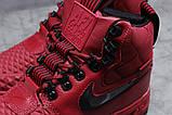 Зимние женские кроссовки 31462, Nike Air AF1 (мех), розовые [ нет в наличии ] р.(40-25,5см), фото 5