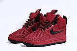 Зимние женские кроссовки 31462, Nike Air AF1 (мех), розовые [ нет в наличии ] р.(40-25,5см), фото 7
