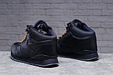 Зимние мужские кроссовки 31481, Reebok Classic (мех), темно-синие [ 42 45 ] р.(42-27,5см), фото 3