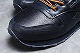 Зимние мужские кроссовки 31481, Reebok Classic (мех), темно-синие [ 42 45 ] р.(42-27,5см), фото 4