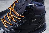 Зимние мужские кроссовки 31481, Reebok Classic (мех), темно-синие [ 42 45 ] р.(42-27,5см), фото 5