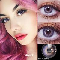 Цветные контактные линзы Фиолетовые