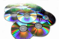 Тиражирование дисков - CD-диск с записью и печатью, от 100 шт