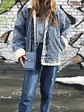Жіноча маленька сумка з ремінцем, фото 4