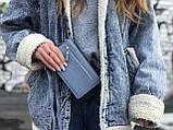 Жіноча маленька сумка з ремінцем, фото 6