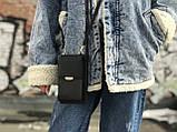 Маленька жіноча сумочка чорного кольору, фото 2