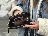 Жіноча сумочка на плече чорна, фото 2