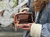 Пудровая женская сумочка на каждый день, фото 4