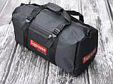 Чоловіча спортивна сумка чорна Supreme, фото 2