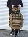 Большой тактический рюкзак койот (65л), фото 3