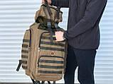 Великий тактичний рюкзак койот (65л), фото 5