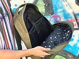 Чоловічий практичний рюкзак хакі, фото 5