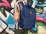 Мужской рюкзак синего цвета, фото 2