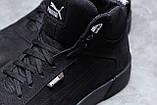Зимові чоловічі кросівки 31693, Puma Desierto Sneaker, чорні, [ 42 43 ] р. 40-26,0 42 див., фото 5