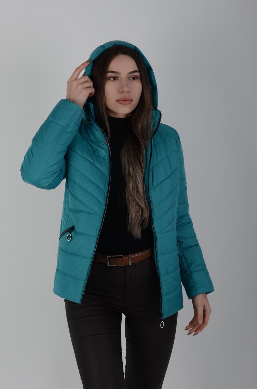 Актуальная демисезонная женская куртка