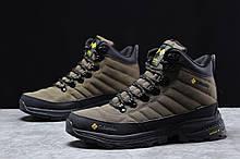 Зимние мужские кроссовки 31773, Columbia Contagrip, зеленые [ нет в наличии ] р.(41-26,5см)