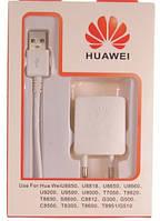 Сетевое зарядное устройство HUAWEI microUSB 1A  *1377 Описание:  Сетевое зарядное устройство с кабелем на micr