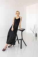 Шовкова сукня на бретелях, фото 1