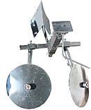 Картоплесаджалка оборотна (диски 360 мм) Преміум +передня частина зчеплення, фото 3