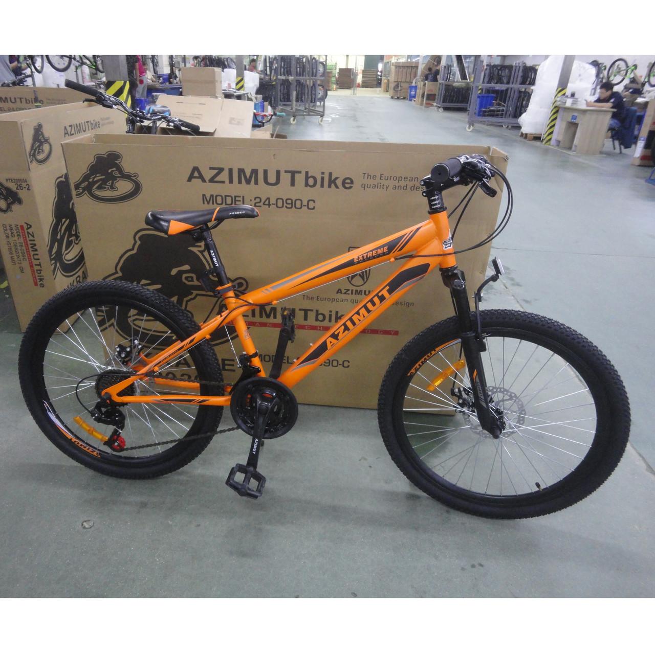 Велосипед Azimut Extreme 24 х 13  GFRD Шимано