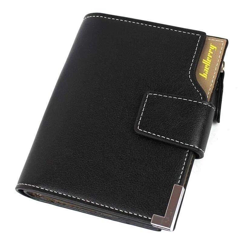 Мини-кошелек мужской черный Baellerry D1282 Black