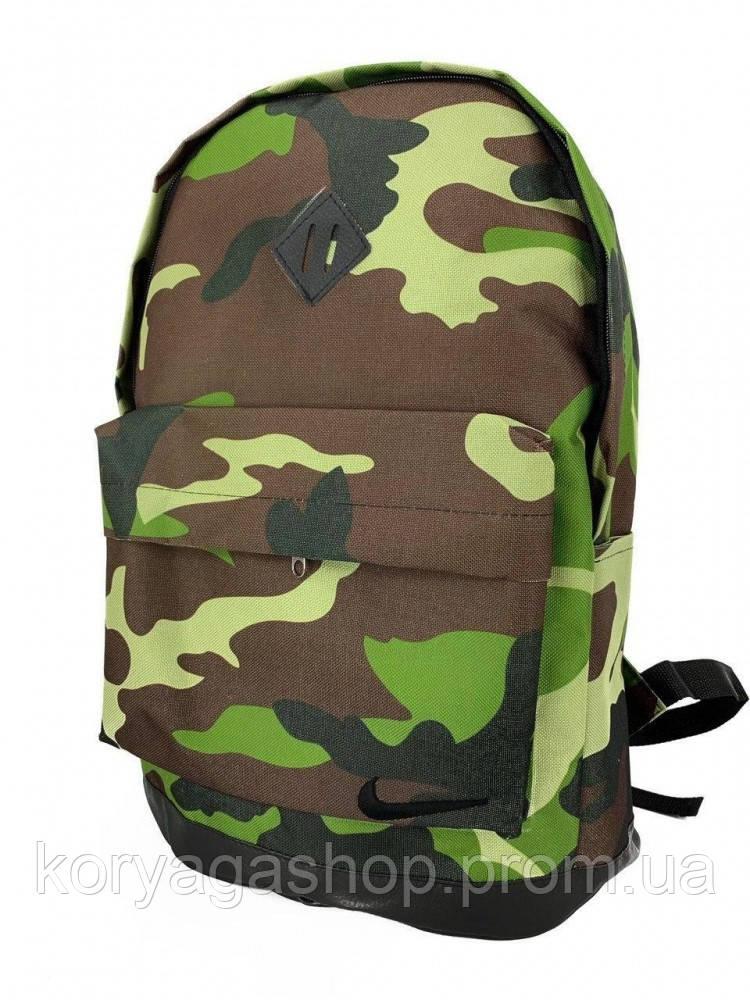 Рюкзак кож дно Камуфляж Зеленый