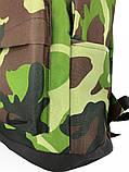 Рюкзак кож дно Камуфляж Зеленый, фото 3
