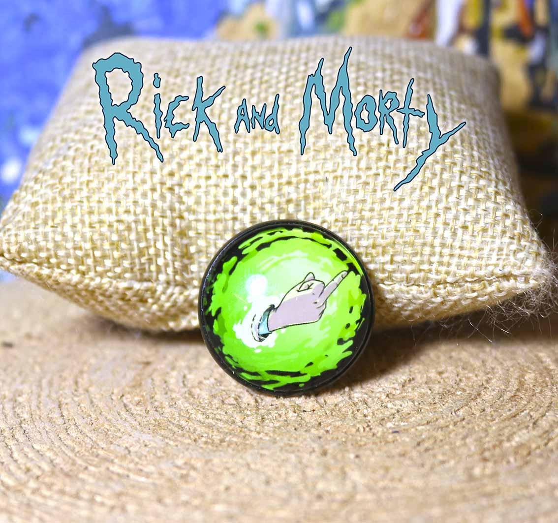 """Значок """"Фак  Рика"""" Рик и Морти / Rick and Morty"""