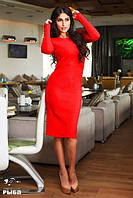 Женское платье ангора средней длины, фото 1