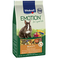 Корм для кроликов Vitakraft Emotion Beauty Selection Adult, 600гр 31455