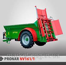 Причіп-розкидач органічних добрив PRONAR NV161 (NV серія)