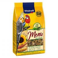 Корм Vitakraft Menu для средних попугаев, 1 кг, 21003